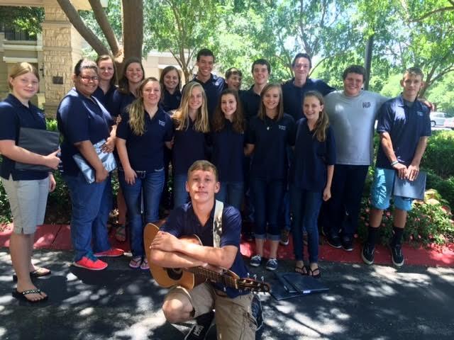 Youth Choir Summer 2015